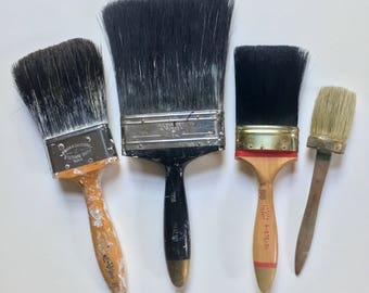 Vintage artist's brushes...***FREE SHIPPING***