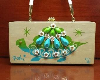 "Vintage Enid Collins Box Bag ""Poki"""