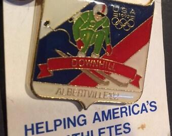 1992 Barcelona Winter Olympics pin