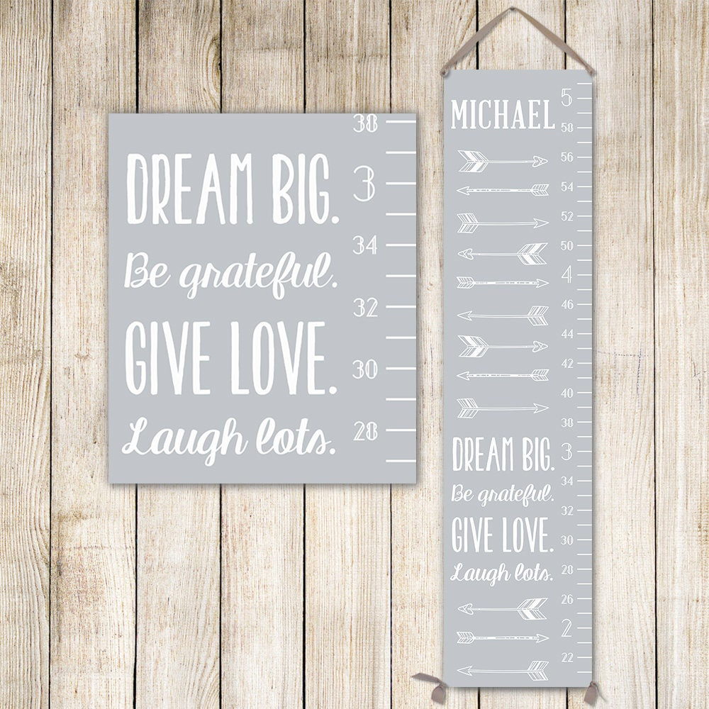 Arrows growth chart ruler personalized canvas growth chart arrows growth chart ruler personalized canvas growth chart personalized gift for boys gc0002s nvjuhfo Choice Image