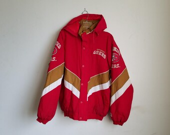 Vintage Starter San Francisco 49ers Jacket W/ Detachable Hood Sz. M
