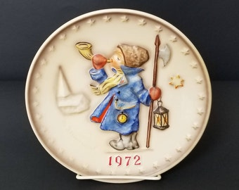 1972 Hummel Plate - Goebel Collector Plate - Hum 265 - Collector Plate