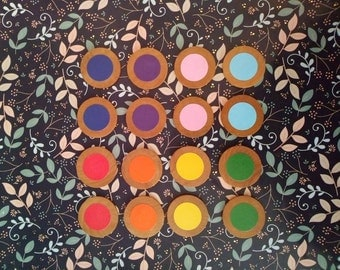 Color Matching Game, Memory Game, Matching Game Set
