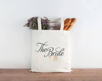 The Bride Wedding Tote - Wedding Welcome Bags, Bride gift, bride tote t5