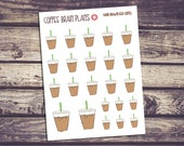 Iced Coffee Hand Drawn Stickers