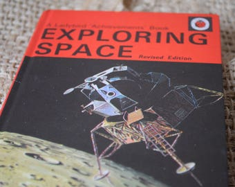 Exploring Space Revised Edition. A Vintage Ladybird Book