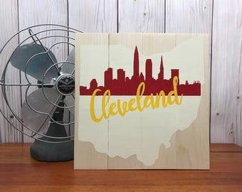 Ohio Wall Art cleveland art | etsy