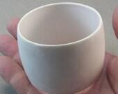 wide dome bracelet bangle white bracelet modern form object 3628