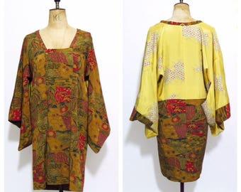 1950's Silk Haori Jacket