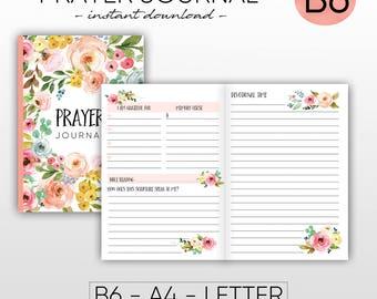 Prayer journal | Etsy