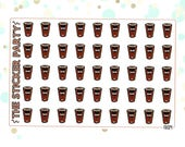 McDonald's Coffee Planner Stickers