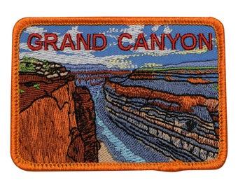 Grand Canyon National Park Patch - Arizona (Iron on)