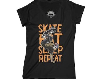 Skate t-shirt skateboard t-shirt long-board t-shirt skate park shirt hipster t-shirt grunge t-shirt urban t-shirt   APV74