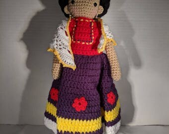 Amigurumi Frida Doll