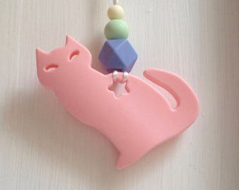 141 - Light pink cat