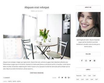 Blogger Template Responsive, Blogger Theme, Premade Blogger Templates, Blogspot Template Minimal, Blogger Blog - Mirmande