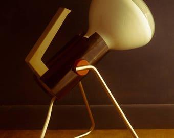 Vintage Philips Lamp 1970s Hp 3202 UV