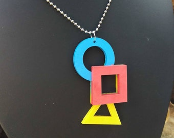 Bauhaus Primary Necklace V2