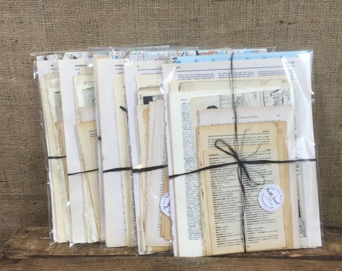 Featured listing image: Junk Journal Kit | Junk Journal Pages | DIY Junk Journal Kit | Vintage Junk Journal | Junk Journaling | Junk Journal Ideas | Ephemera Pack