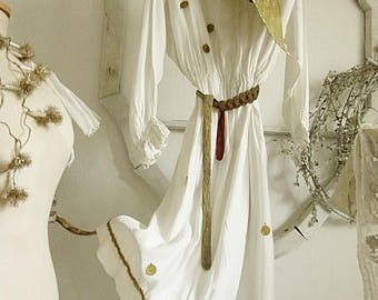 Simply divine, antique procession dress, theatre costume, angelwings, France....CHARMANT!