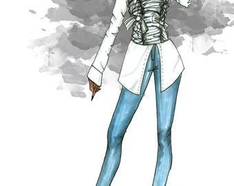 Custom Fashion Illustrations