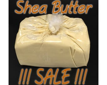 5 lbs. African Shea Butter Unrefined Raw Organic From Ghana 100% Pure Virgin Skin, Body, Hair Moisturizer Bulk 5 lb / 5 Pounds