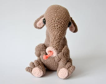 Crochet PATTERN No 1713 Anteater by Krawka,