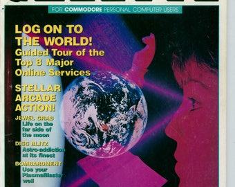 Compute!'s Gazette Magazine January 1989 Very Good