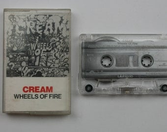 Cream Wheels of fire cassette Tape