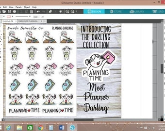 Planner Darlings Planner Stickers