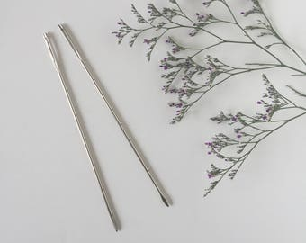 Set of 2 Weaving Needles / Prym / Needle / Weefnaald