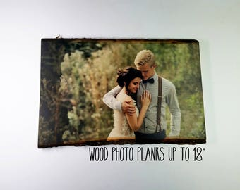 Personalized Couple, Housewarming Gift, Anniversary Gift, Wood Picture Frame, Photo Gift, Wedding Gift, Personalized Gift, Rustic Home Decor