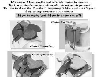 Modern Sidesaddles English and Western For the Model Horse Arena