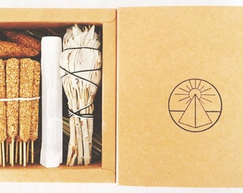 Palo Santo Incense Sticks + Offerings. Palo Santo Incense. Selenite .Sweetgrass. Sage.Palo Santo Cones. Rituals Incense