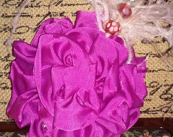 Lavender Mini-Fascinator
