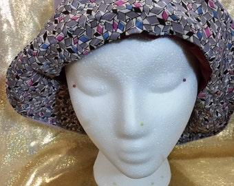 Fabric Reversible Bucket Hat