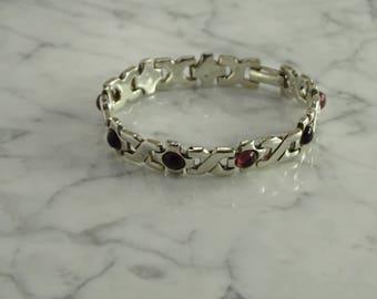 "Sterling Silver Bracelet(6 7/8"")"