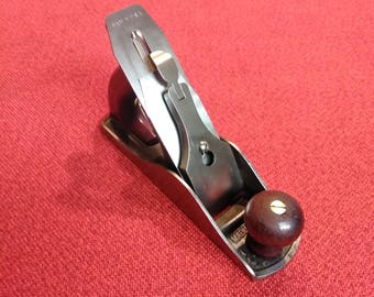 """Vintage Hand Plane 9"""" Made In USA Quality Steel Tool"""