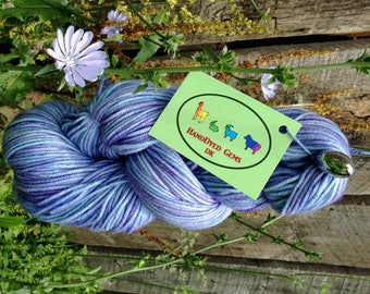Pendle Alpacas' HandDyed Gems – Chicory