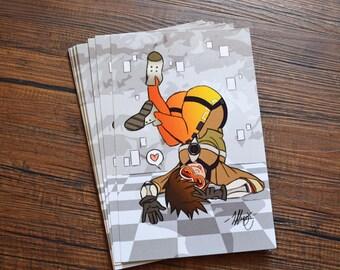 Overwatch Tracer Print, Bonus Print Included