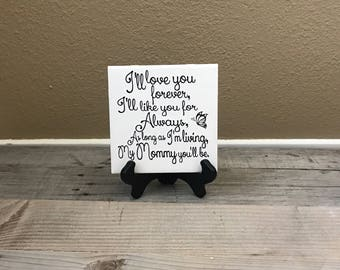 Personalized Gift, Gift for Her, Gifts for Mom. Mother of the Bride Gift, Birthday Gift, Decorative Tile, Mother's Day, Christmas Gifts, Mom