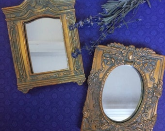 Gold Gilded Mirrors