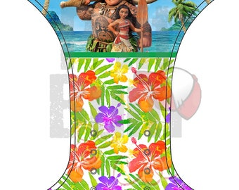 PRE order - Pocket - one size - flowers of Hawaii diaper