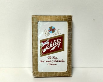 Schlitz Card Deck Vintage Beer Playing Cards Collectibles