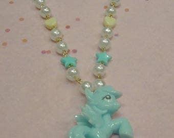 Pastel Pony Necklace