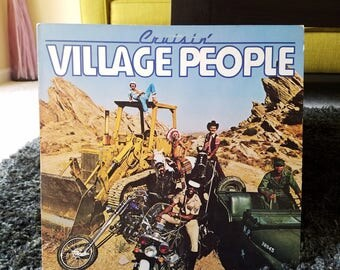 Village People - Cruisin' Vinyl LP / YMCA / Disco