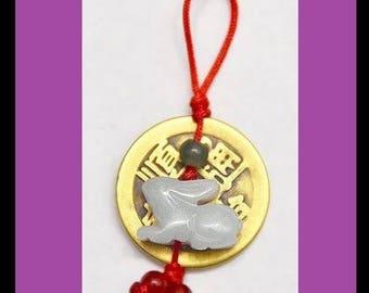 2018 Tiny Radiant Rabbit Coin Charm