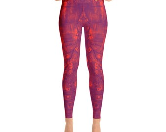 Orange You Sweet Yoga Leggings