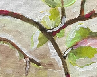 """ORIGINAL Acrylic Painting """"Pears"""""""