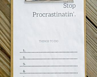 Easy Printable To-Do List